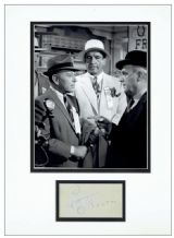 Pat O'Brien Autograph Signed Display - Some Like It Hot